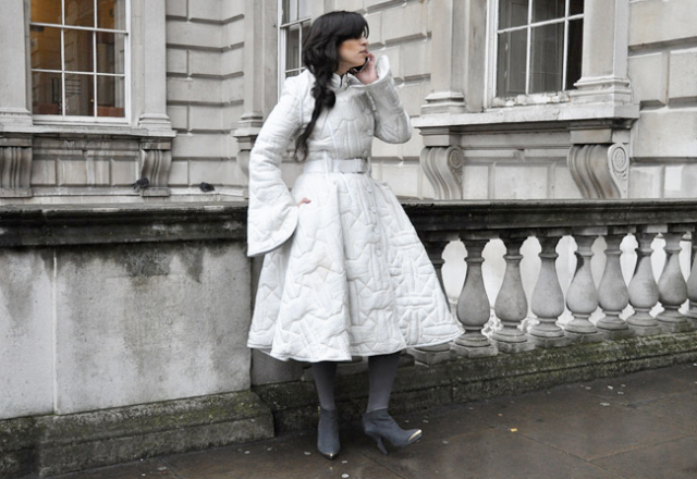 cinched_waist_big_skirt_coat_dress